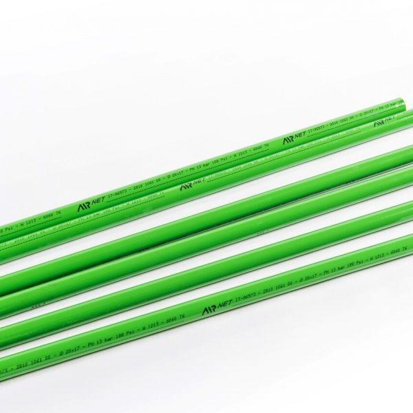 Alu - Rohr D158 L=5,7m N2 Grün